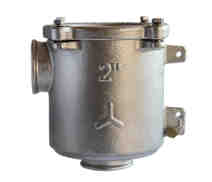 2006 - Bronze bracket mounted water strainer 'VENEZIA' with clear lid