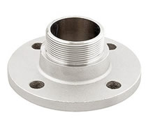 0015 - Nickel plated PN6 male threaded flange