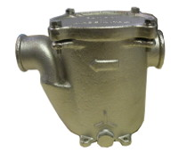 2105 - Bronze base mounted water strainer 'GENOVA' with full metal cap