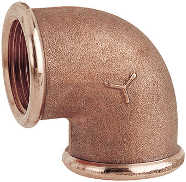 2090 - Bronze 90° F.F. elbow